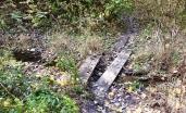 Ad hoc board bridge.