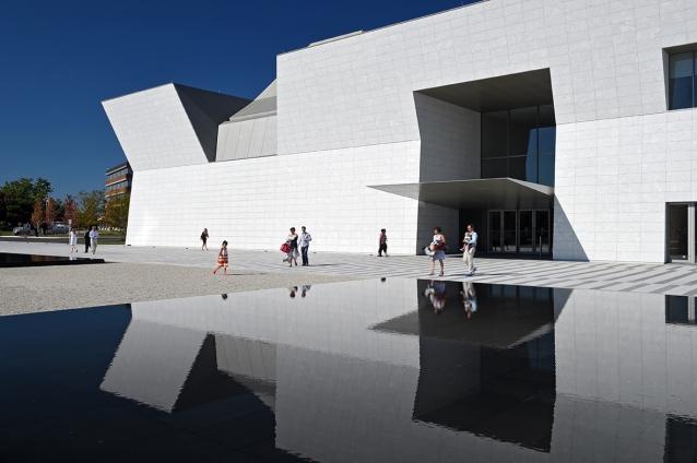 Aga Kahn museum exterior.