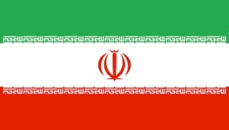 Iranian flag.