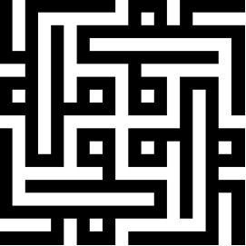 Kufic rendering of Mohammad name