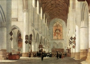 St. Bavo's Church, Haarlem, Holland.