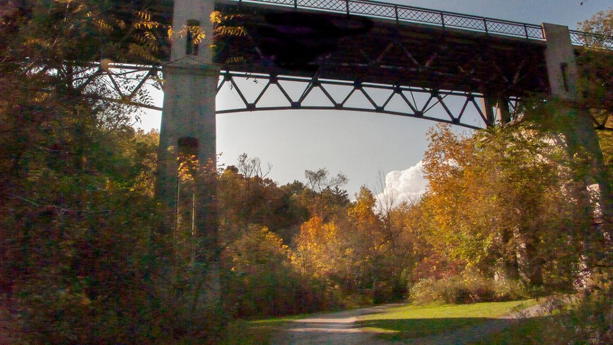 Under Glencedar bridge.