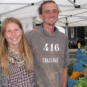 YOUNG FARMERS: Bringing fresh organic food to your neighbourhood