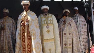 Ethiopian priests.