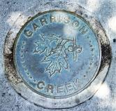 Garrison Creek medalion.