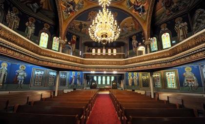 Interior of St George's Greek Orthodox Church