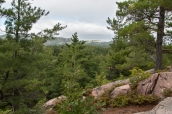 La Cloche mountains.