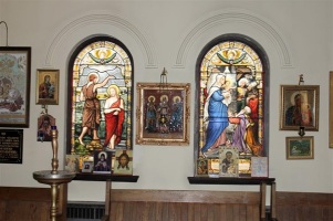 original Anglican stained glass windows