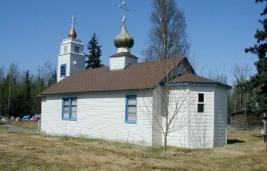 Russian Orthodox church in Ekutna