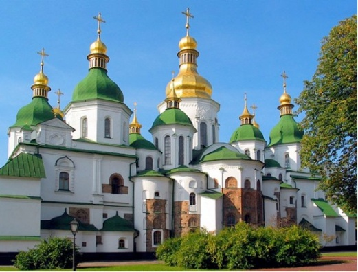St Sophia Cathedral, Kiev, The Ukraine