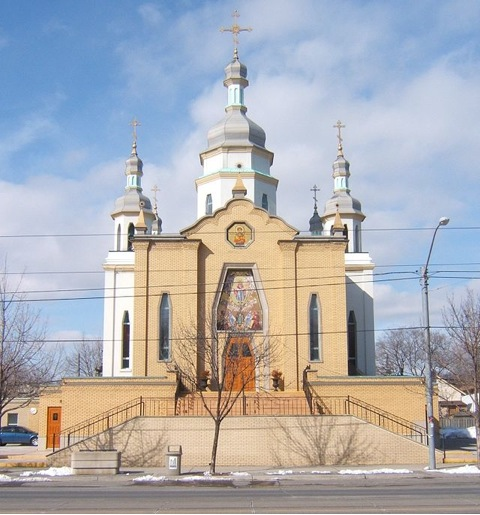 Ukrainian Orthodox Church of St Demetrius