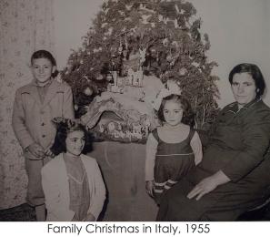 Family Christmas 1955.
