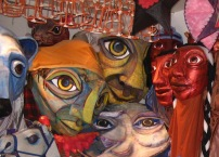 Puppets at Red Pepper Spectacle Arts.