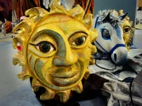 Sun puppet Red Pepper Spectacle productions.