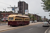 Old President's streetcar on St Clair.