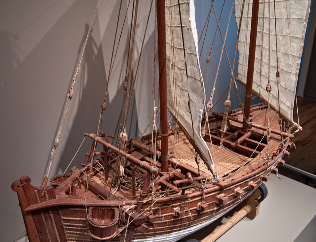 Dhow deck.