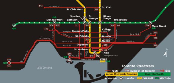 TTCstreetcarmap-2005
