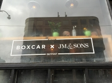JMandSons at Boxcar Social.