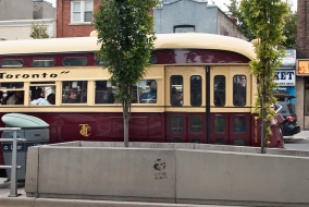 PCC streetcar, Toronto.