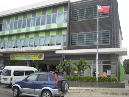 Moils building, Tonga.