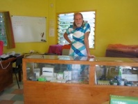 Apple store proprietor, Tonga.