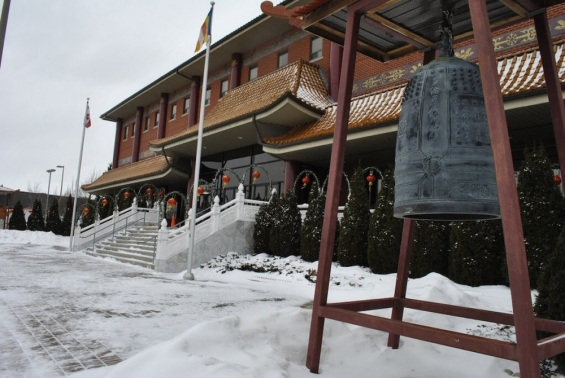 Fo Guang Shan Temple of Toronto.