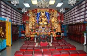 Fu Sien Tong Upper Shrine Room.