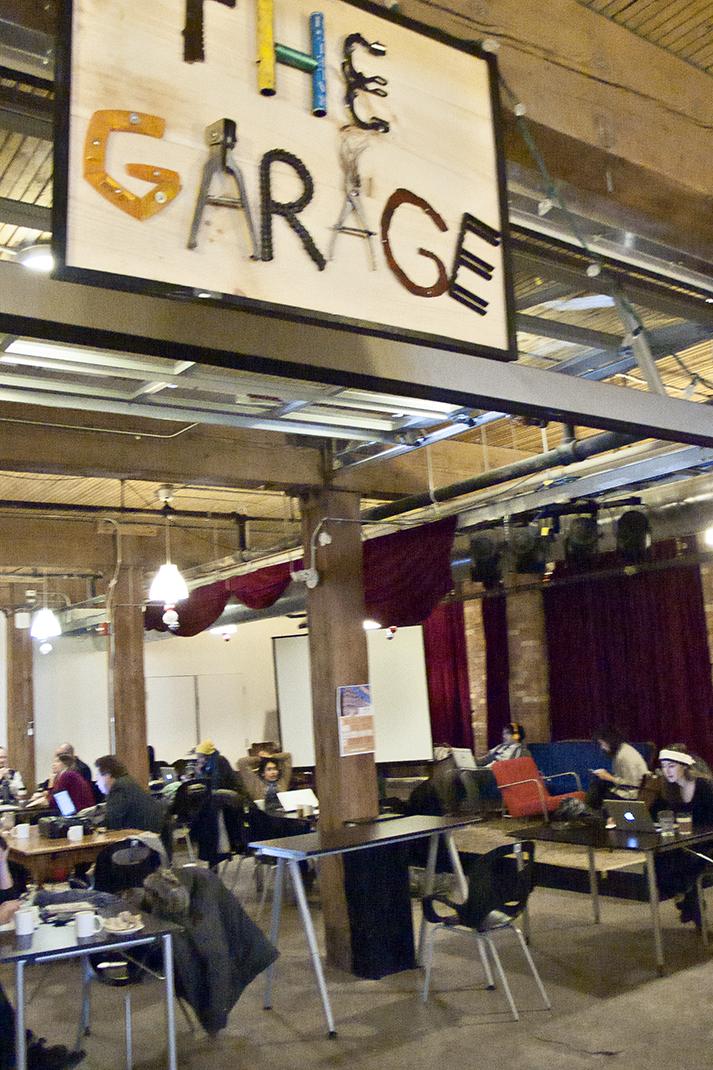 The Garage at CSI Annex.