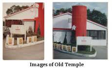 Images of old temple.
