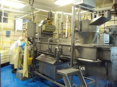 Cheese making equipment.