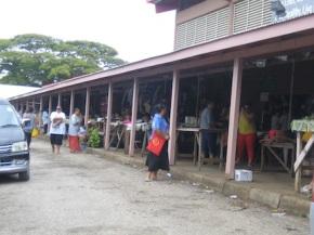 Market in Tonga.