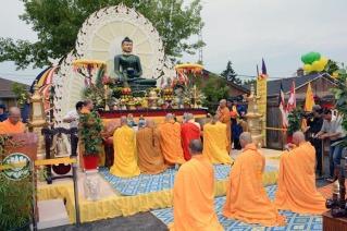 Jade Buddha in Toronto.