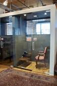 Phone booth at CSI Annex.
