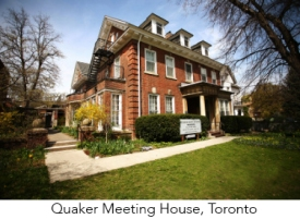 Quaker Meeting House, Toronto.