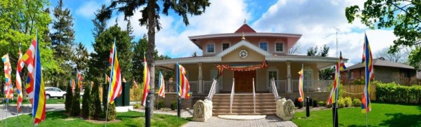The West End Buddhist Temple and Meditation Center, Mississauga.