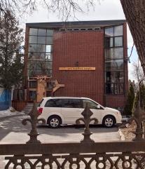Zen Temple, Vaughan Rd., Toronto.