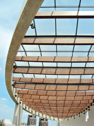 Ismaeli Centre canopy.