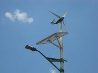 Solar panel in China.