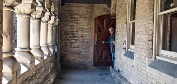 U of T open door.
