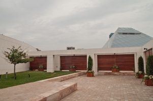 Ismaeli Centre terrace.
