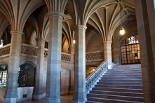 Knox College interior, U of T.
