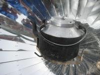 Nepal solar kettle.