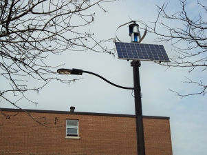 Northcliffe Parkette Solar Panel