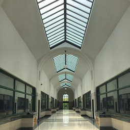 RC Harris skylit corridor.