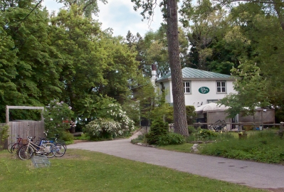 Rectory Cafe, Toronto Islands.