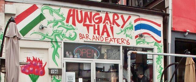 Hungary Thai restaurant.