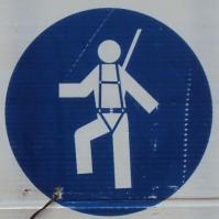 Italian Construction signs in Castiglione d'Orica