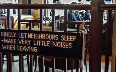 Let neighbours sleep