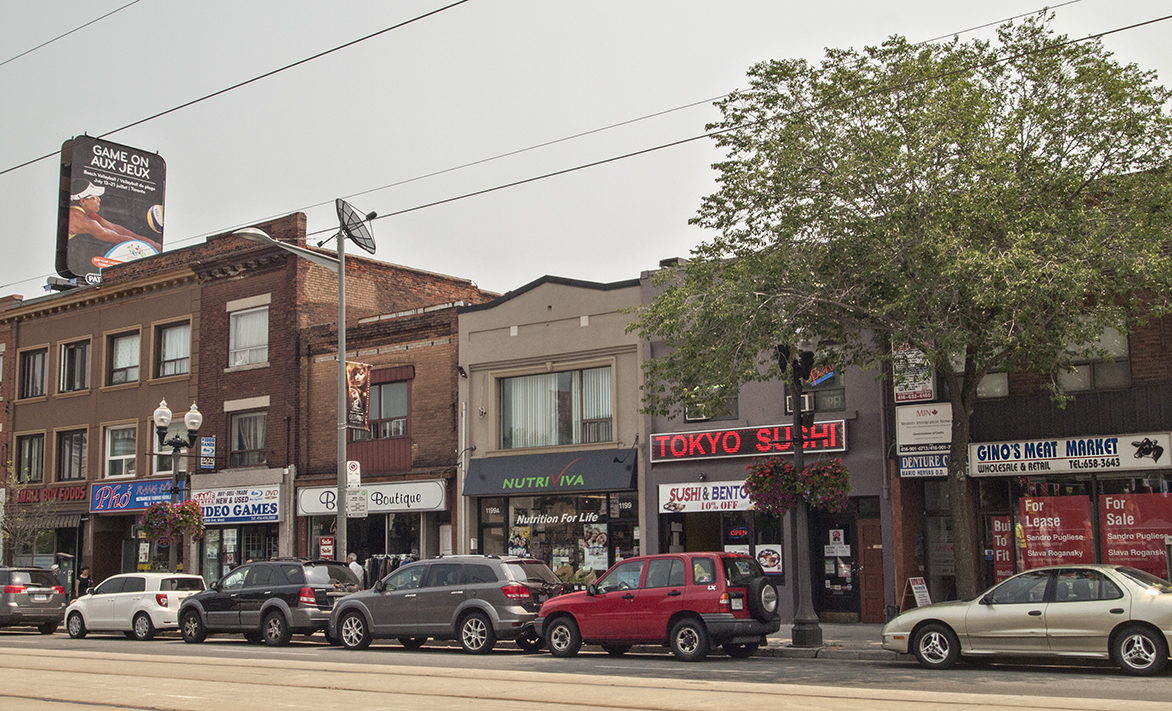Storefronts of St. Clair W.