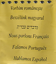 multilanguage sign